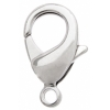 Lobster Clasp 12mm Rhodium Plated